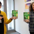 Marion Schmidt-Biber (Fachstelle Partnerschaft und Ökumene) und Pfarrerin Katharina Stähler (Profilstelle Gesellschaftliche Verantwortung